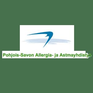Pohjois-Savon Allergia- ja Astmayhdistys logo