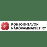 Pohjois-Savon Näkövammaiset logo