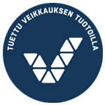 Veikkauksen logo sininen